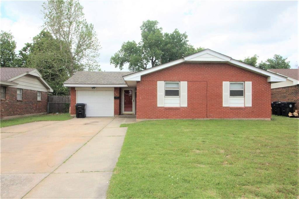 Large & Newly Remodeled three bedroom, one bath home located in northwestern Oklahoma City. This home is newly remodeled; fresh paint, new kitchen cabinets, new countertops, new flooring, etc. Home features include double overhead garage door, detached rear storage shed, chain link fenced in back yard, covered patio, washer & dryer connections, central heat & air, vinyl plank throughout unit and plenty of closet storage. The home is ready for immediate move in. CALL TODAY!!! Security deposit is equivalent to one month rent. No pets please.