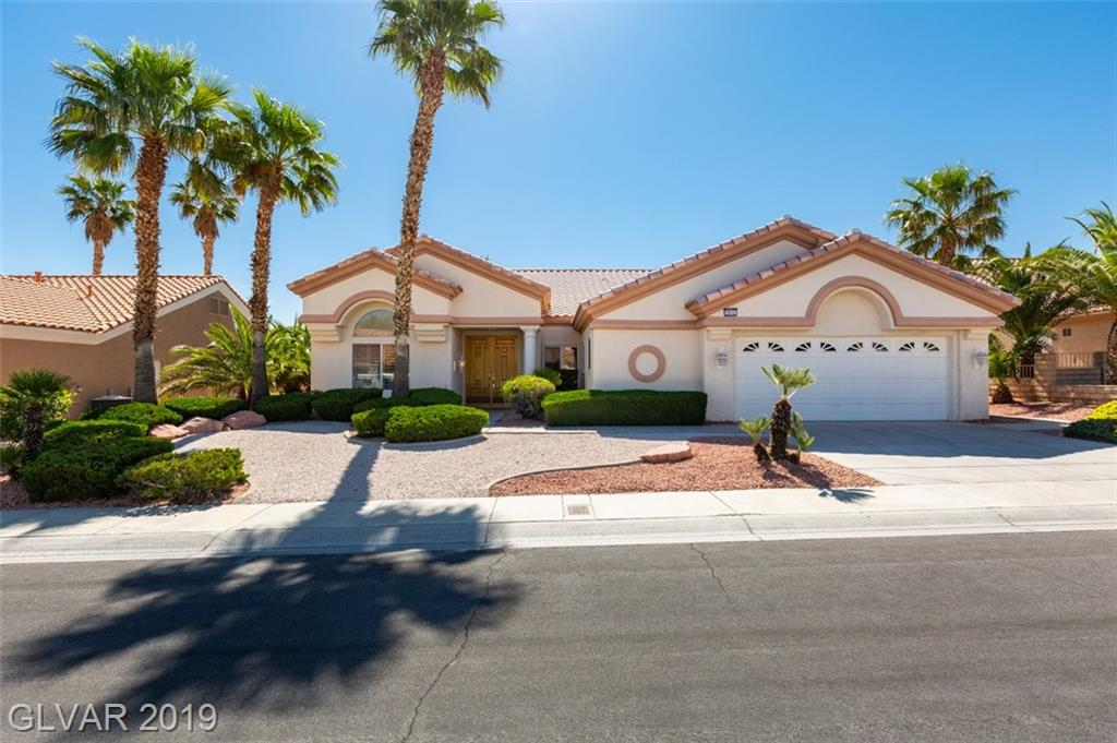 Motivated Seller - Beautiful single story home on the Golf Course!!  Great views of the course and the mountains!  High ceilings, shutters throughout.  House has been kept in good shape just waiting for your own personal touch.  Built-ins in the family room and den/office.  Lots of counter space in the kitchen.  This is an age-restricted community.  Bring all reasonable offers!