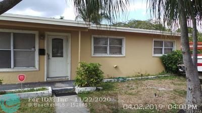 INVESTORS ONLY. NOT for sale individually. Part of a package. 7 South Florida homes located in Lauderdale Manors, Ft Lauderdale, Florida listed for $1,295,000. This is a 3 bedroom home  with central a/c, tile floors, and carport. CBS construction. Leased for $1,380. a month. Investors purchase homes already producing income, professionally managed, and invest in the potential appreciation of single family homes in South Florida. All homes in package are leased.