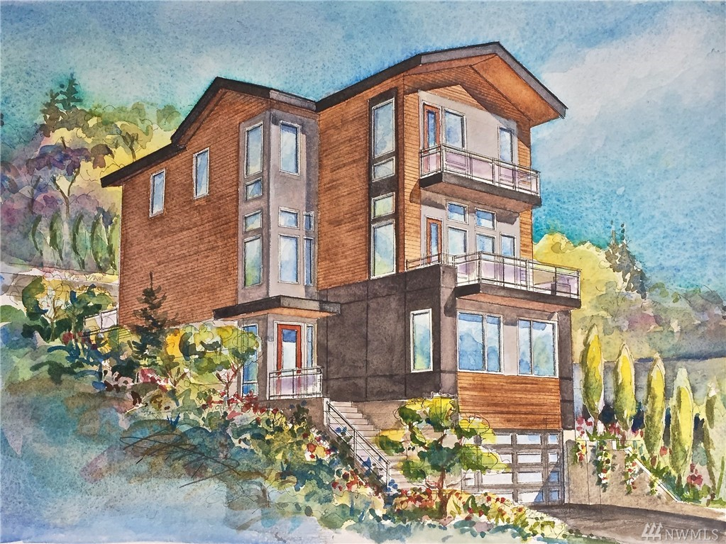 PRESALE- New Constrction Home Available Spring 2020. Beautiful 6,471 + sq ft home in the Prime Time Location of Seattle with view of Puget Sound and the Mountains. Luxurious Floor Plan, Floor-to-Ceiling Windows, Theatre / Media Room, Stainless Steel Appliances, Modern / Bright PNW Open Floorplan. It is a MUST SEE!