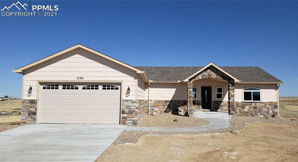 CUSTOM HIGH QUALITY NEW BUILD IN PEYTON!! WONDERFUL RANCHER WITH FULLY FINISHED BASEMENT WITH WALK OUT! LOTS OF NATURAL LIGHTING IN THIS 5 BEDROOM 3 BATH HOME. THREE LIVING AREAS AND A MEDIA/ENTERTAINMENT ROOM! THE GOURMET KITCHEN IS STUNNING WITH GRANITE AND HIGH END APPLIANCES TO INCLUDE A INDUCTION STOVE. SOFT CLOSE CABINETS, PANTRY, BREAKFAST ISLAND! 2 LAUNDRY ROOMS! ALL BATHS HAVE TILE WITH BUILT IN SHELVES! 5 ACRES TO ROAM WITH YOUR HORSES! BUILD A STABLE! MOUNTAIN VIEWS! THIS IS TRULY A PIECE OF COLORADO HEAVEN!