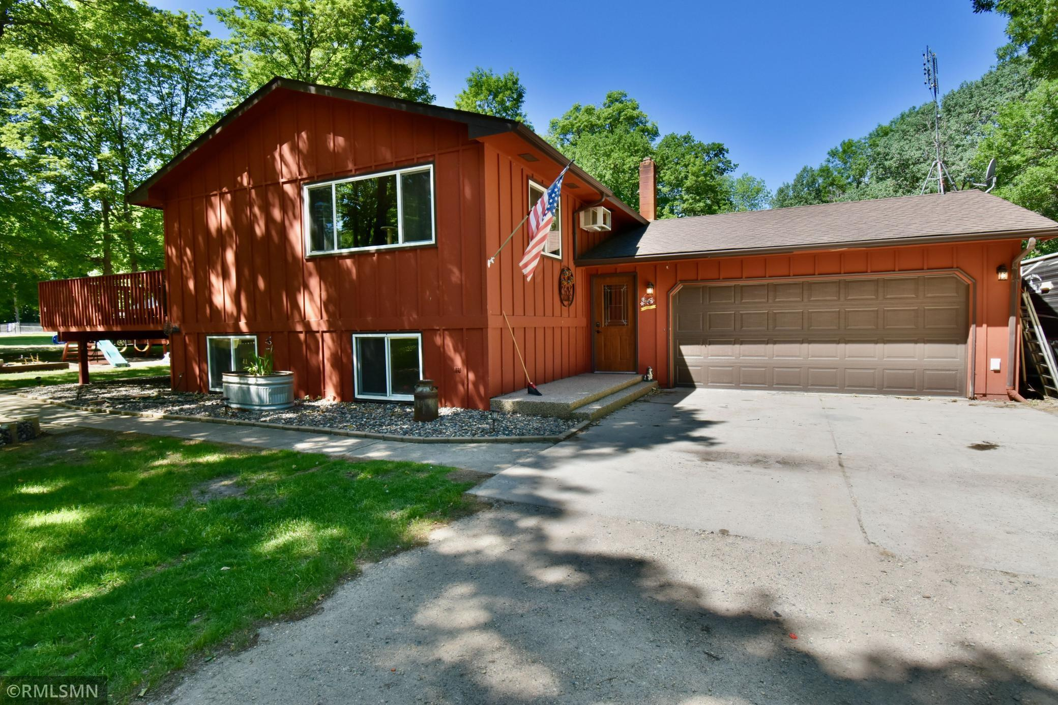Beautiful three bed, two bath home within minutes of Alexandria, MN. This home offers gorgeous hardwood floors with open living space. Home sits on 3+ acres so you can enjoy the big mature trees and have plenty of room for entertaining guests, or just enjoying your own private back yard. This homes location is amazing being so close to Hwy 29 you get the comfort of being right outside town but also get that privacy with the 3+ acres. This home truly has it all!