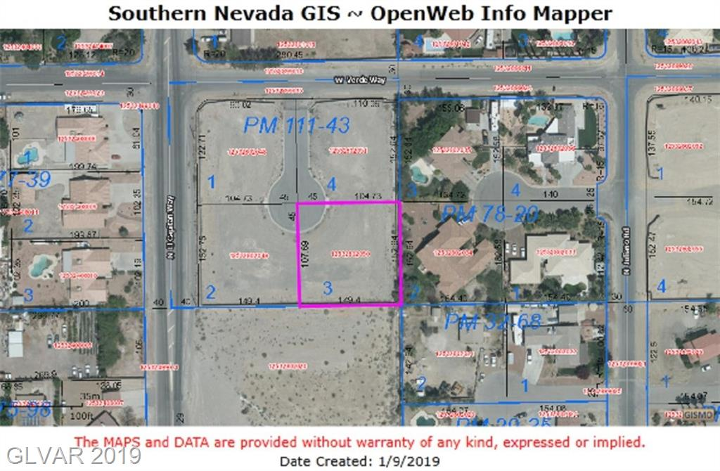 Verde Lot 3, Las Vegas, NV 89129
