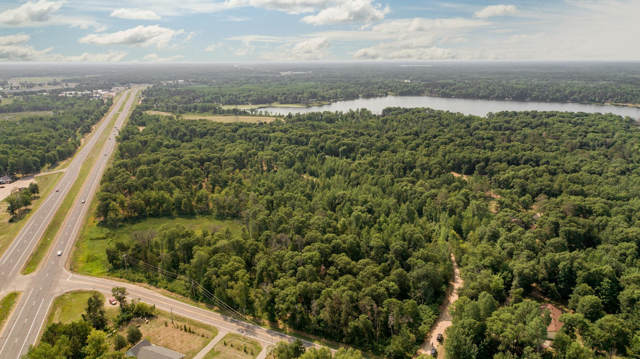 Great commercial devlopment opportunity with 1600+/- feet of frontage on Highway 371 and 23.52 Acres. Property may be viewed from Joannes Dr NW. Access off Green Gables road or right off of 371 South bound.