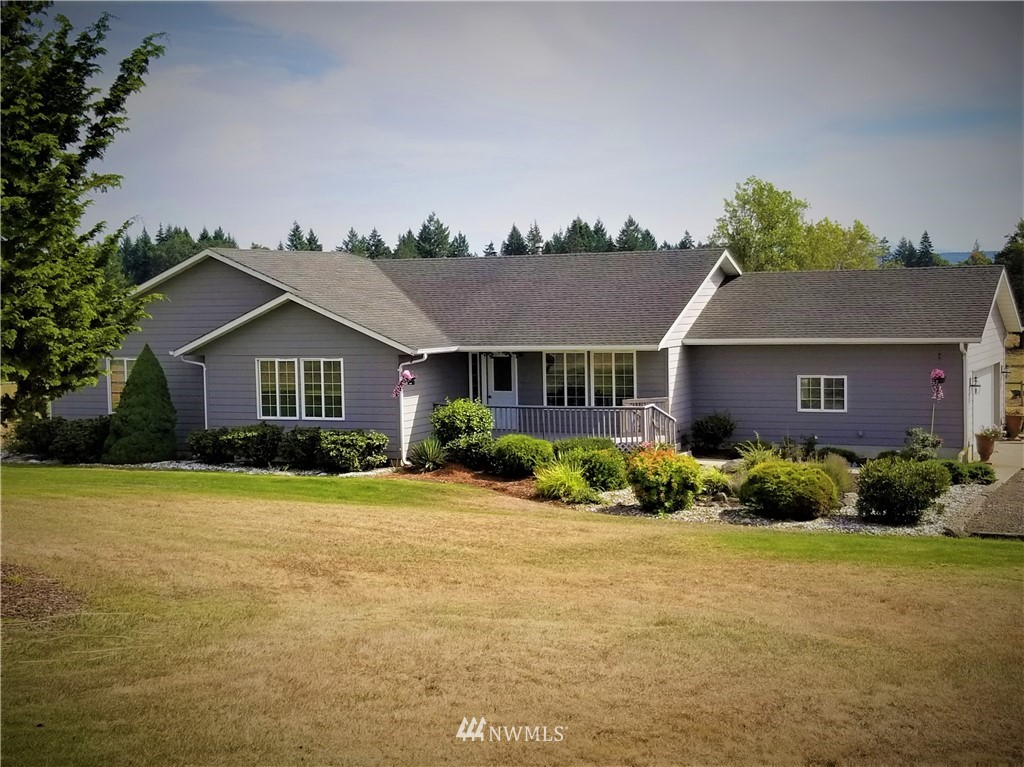 Ideally located just outside of the historic city of Toledo and minutes from the I-5 corridor. This well-maintained - one level home on 5.5 acres is a perfect consideration for anyone looking to live the small-town lifestyle. AMAZING view of Mt Rainier and a panoramic view of the open farmland below. Property is fenced and cross fenced and features a large 36' X 48' - four stall barn. This property is an ideal choice for the horse lover, mini farm farmer or sustainable living enthusiast.