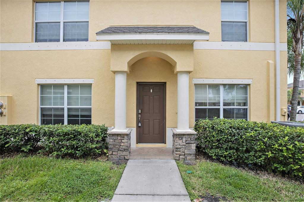 One or more photo(s) has been virtually staged. Built in 2012, this Trinity two-story home offers granite countertops.