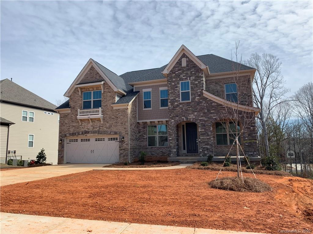 """This Prescott floor plan complete with 6 BR, 4 BA, a finished basement with bedroom suite and bathroom, 1st floor guest suite, 2 story family room, fireplace stone surround floor to ceiling. Kitchen features a large island, walk-in pantry, as well as a 36"""" gas cook top. Grand morning room, study and much more!"""