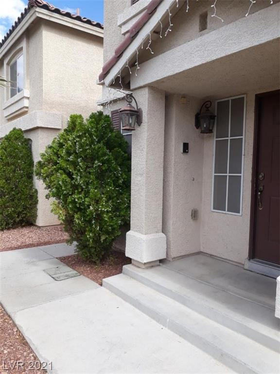 A well maintained and upgraded 3 bedroom and 2.5 bathroom house in the center of southwest Las Vegas just minutes from big box stores, Sam's Club, Walmart, Bestbuy, Homedepot etc... Laminate wood flooring throughout downstairs, upgraded kitchen cabinets, granite counter, stainless steel appliances, home theater fully wired speakers throughout the house, patio cover, low maintenance desert landscaping at front and backyard, recently planted pine trees, concrete ground in the whole backyard, spa-like jetted tub in master bathroom and two walk-in closets in primary bedroom, built-in garage cabinets are just the few features this house has to offer.