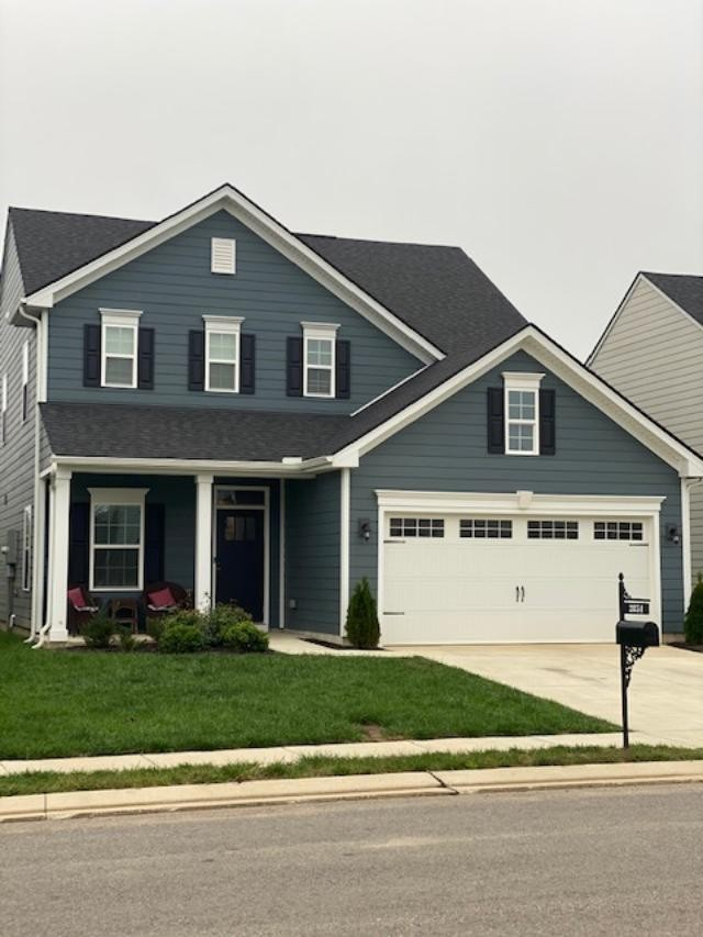 Darling 4 bedroom home with open floor plan, large island in kitchen, spacious rooms, granite, stainless steel appliances, awesome covered patio with extended concrete pad for grilling, back yard backs up to a farm, lots of windows for natural light, attic storage.