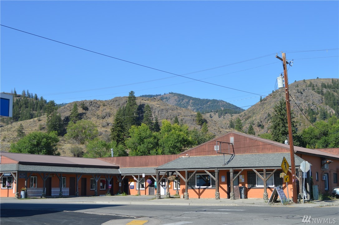 Great opportunity to invest in a Twisp commercial building, right smack in the middle of the Methow Valley on Highway 20. Centrally located and easily accessed, the 14 office spaces are of varying square footage to fit individual needs. Easy walk to restaurants, bank and town park.  90% +/- occupancy.
