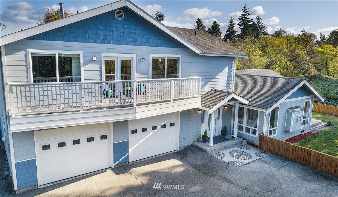 There's something for Everyone in this Gorgeous 4 Bed, 2.75 bath. Lots of Natural Light & Room to spread out w/Open concept LR, Kitchen, Formal Dining, Lrge Family Rm, Master w/5 piece bath & Walk-In Closet, 3 Decks, a Bonus rm, & a Huge 4-Car Garage w/shop! The Partly Fenced Yard is Great for Entertaining w/2 Fire Pits, & Sitting Areas, a Shed, Patio, Veggy garden & Greenery in all directions. Take in the Sunrise or the Sunset from upper Decks on either side of the house. Fully Renovated in 2012, this Home is a Commuters Dream. Situated between I-5, 405, 99, & 518, Its only minutes to the Light rail & SeaTac airport, but it's NOT in the flight path! Tucked Away down a quiet & Private Drive, You really have to See this One to Appreciate it!