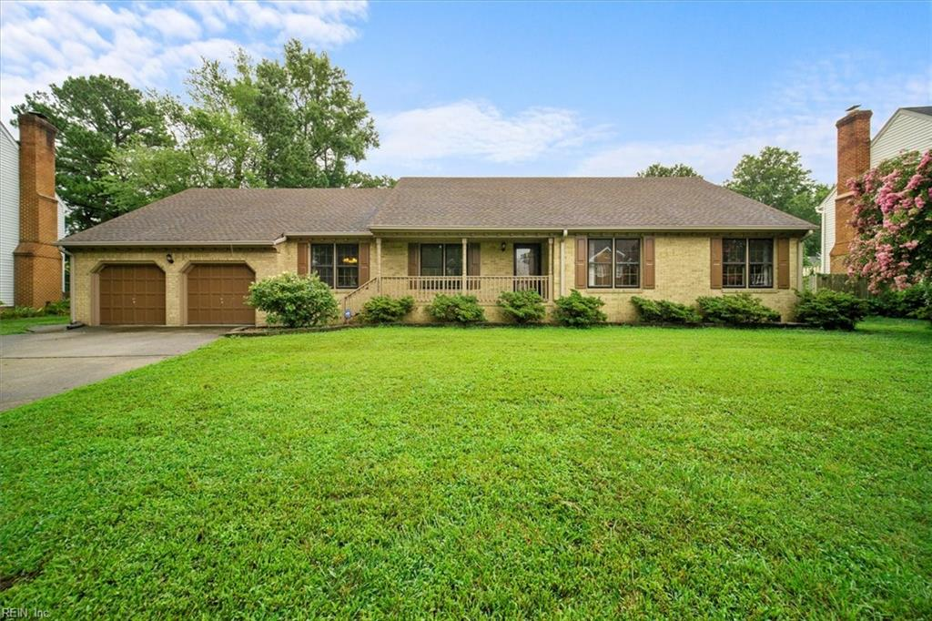 This single family ranch house is well maintained with a terrific sunroom and stand alone, 2 room shed with power.