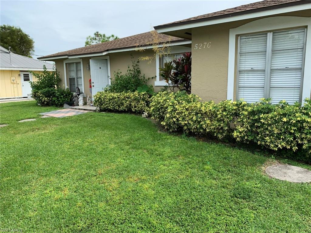 Nice cement block duplex with newer roof, tile floors throughout, walk-in closet and good size interior laundry room. Back yard is fenced with each side have it's own area. Plenty of parking.  Good location.  Tenants are on month to month status.  See it Today!