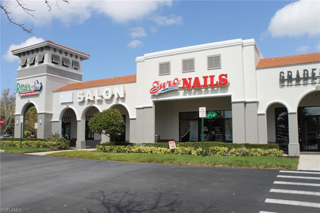 """Exceptional Opportunity to Lease 2417 square feet of Prime Retail Space in the Highly sought after Premium Location at Mission Square in Naples. Beautiful Space with Large Open Area. Move in ready, Neutral Tile and Paint throughout. Can be used for most any Retail Use or Professional Space. Mission Square is located in a Highly Visible Busy Central Naples Location on Pine Ridge Road, between Goodlette-Frank and Airport Pulling. Prime """"A'' location, Great Visibility and Signage. Easy access from Signalized Intersection on Pine Ridge Road, one of the busiest roads in Naples and close to Pine Ridge Middle School. Nice Mix of Retail and Office Users in this Very Popular Shopping Center. Anchored by Noddles Restaurant and Dunkin Donuts. Other popular Retailers, Professionals and Restaurants include KoMoon Thai Restaurant, Prudential Insurance, Fred Astaire Dance Studio, Nail Salon, Ritas Water Ice and many more."""