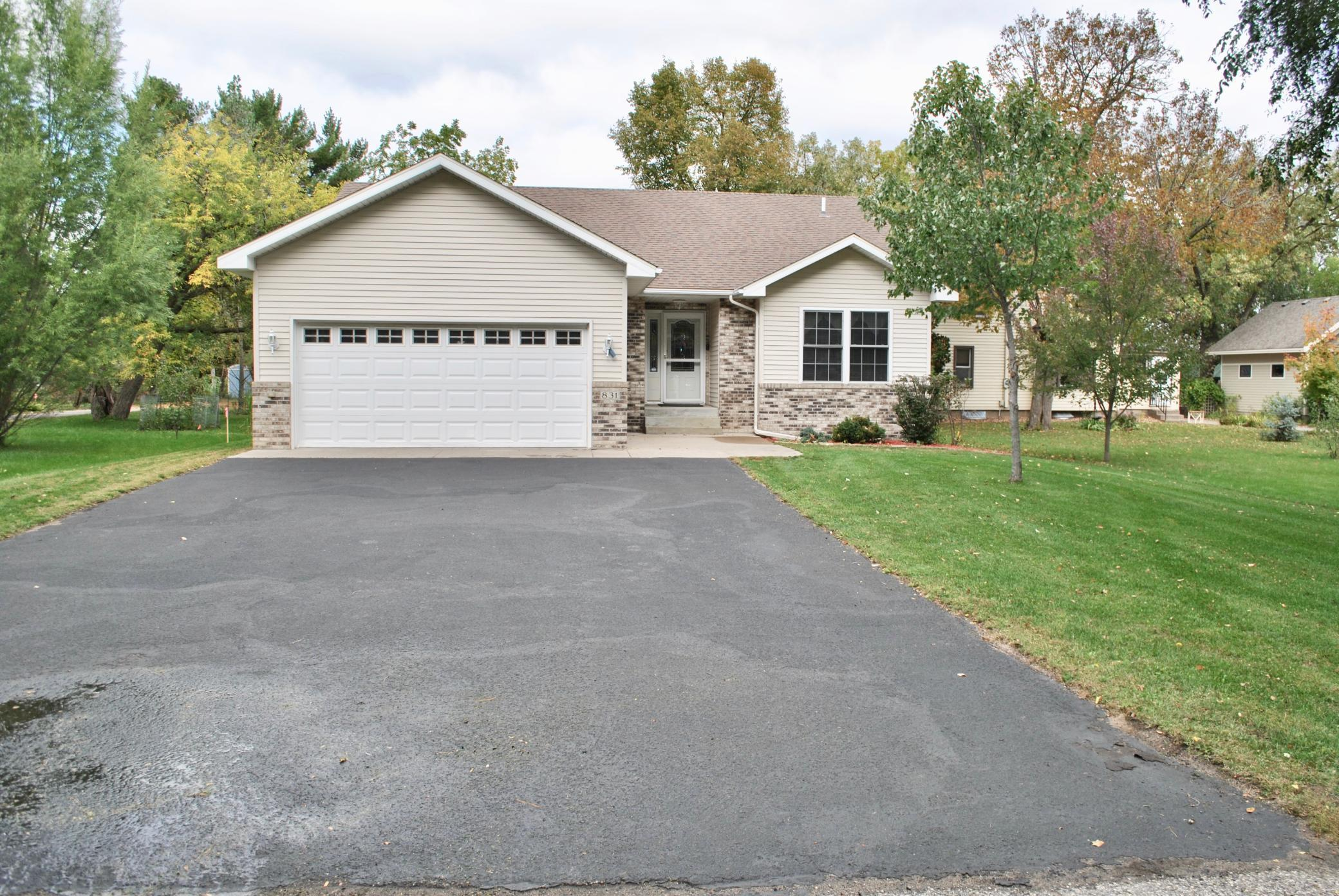 This Stunning 1 story 3 BR, 3 Baths offers quality and distinction throughout, with a spacious layout and impressive amenities! 3 panel doors, Large family room w bar setup for entertainment and plenty of storage space! Included is a maintenance free deck off the dinning area which flows into a large backyard w/storage shed. Located just a mile from the Country Club!