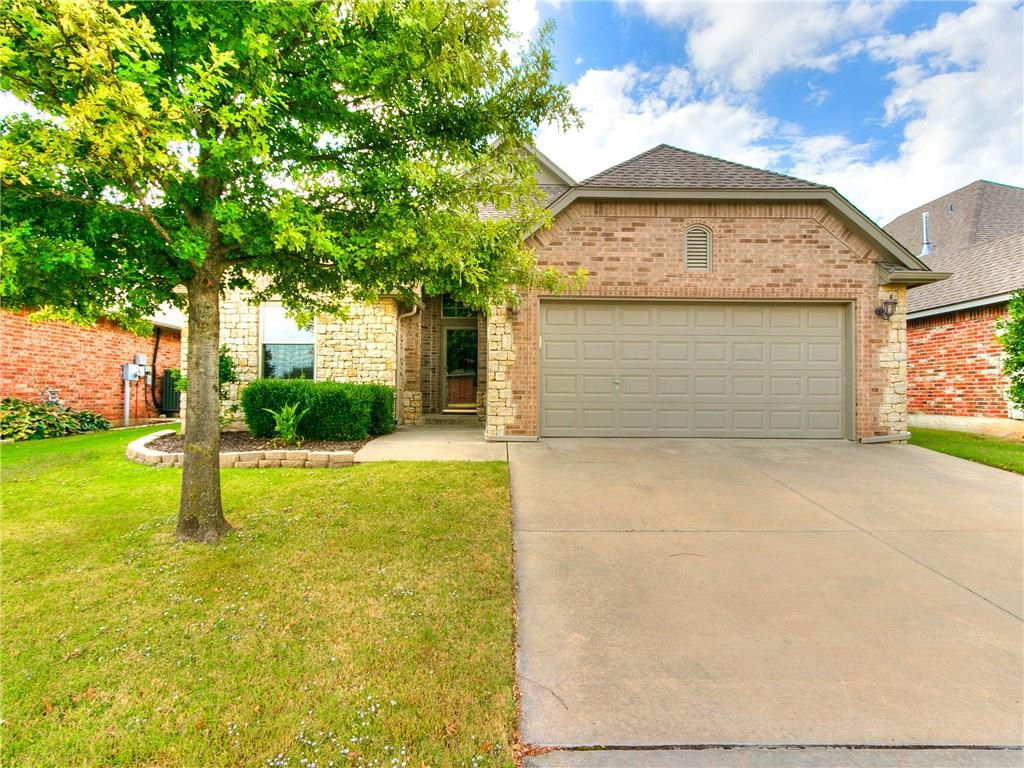 Come check out this beautiful home tucked away in the quiet, well-manicured neighborhood of Cascade Estate!  This great neighborhood is located in one of the most desirable areas Norman has to offer.  This home has a great layout and has so much to offer to include:  a large office/study, an open floorplan, huge patio overlooking a greenbelt/creek, a storm shelter, a fabulous master bathroom/closet, and hardwood flooring/tile throughout (no carpet)!  Come see this exceptional home before it's gone!