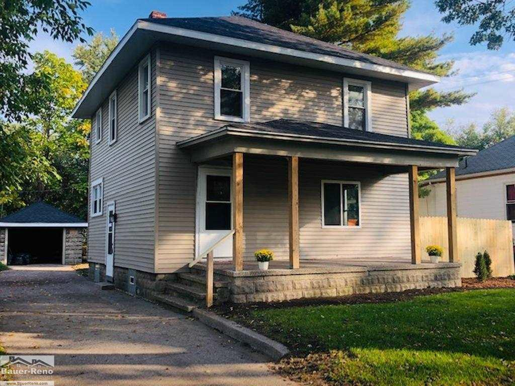 Super Clean! This Home Has Been Renovated From Top To Bottom & Is A Must See! 3 Bedrooms, 2 Full Baths Offering 1318 Sq Feet. Roof (4yrs Old), Wallside Windows (3 Yrs Old), New Kitchen Cabinets & Countertop. Fresh Paint & New Carpet Throughout. Premium Levella Heat/ Air Units (2021) Installed.  The Bathrooms Have Been Updated With Marble Tile Backsplash, New Lighting, Vanity's & Faucets. New Vinyl Siding 2021, Outside You Will Find A Detached Garage, Fresh Landscaping & A New Privacy Fence. Located Just Minutes From Downtown, Shopping & Dining. Northend Schools. You Will Not Be Disappointed! Agent Owned.