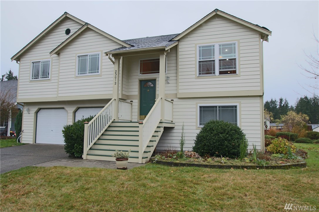 Beautifully remodeled, 4-bdrm home! Over 2300 sf, hardwood and tile floors, vaulted ceilings, crown moulding, gas fireplace in living room, dining + eating nook in updated kitchen - granite countertops, white cabinets, gas range/oven, walk-in pantry, separate family room! French doors to master, walk-in closet + private bath.  All bathrooms updated! Lots of storage! Newer roof and hot water tank, dream shop w/tons of cabinets, well maintained grounds w/mature plants, large outbuilding. Must See!