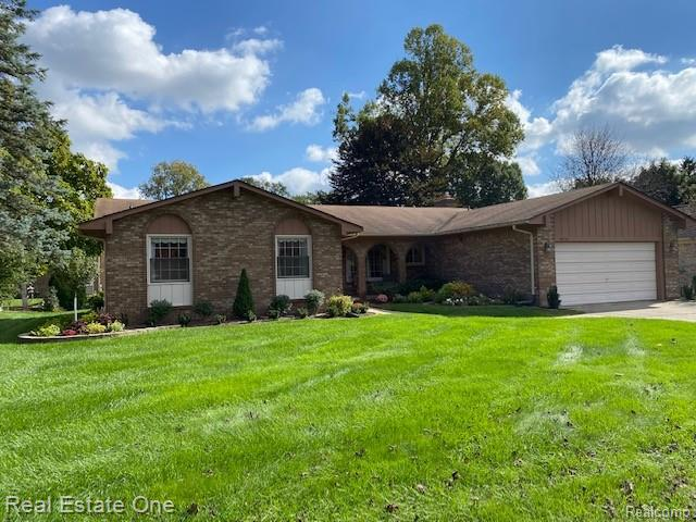 In the northernmost part of Livonia, nestled in the center of desirable Hidden Pines Subdivision, this one owner ranch will get your attention.  Over 1600 square feet of first floor living space, and an additional 700 square feet of finished space with a wet bar.  (Almost another 1000 square feet of unfinished basement space for storage, hobby shop, or work shop.  New furnace, AC, and water heater in 2019.  One owner pride of ownership evident throughout.  HURRY! This 3 Bedrooms, 2 1/2 Bath gem will not last long.
