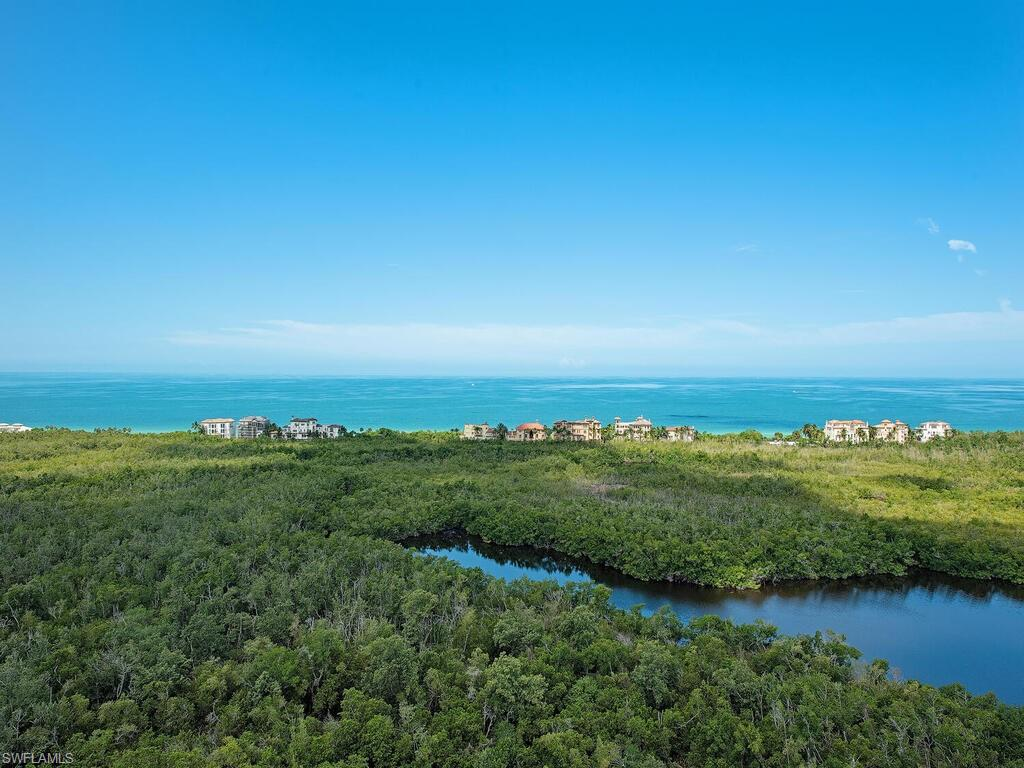 C2396 - Extremely spacious single level PH offered for the first time ever in Montenero. Enhanced Ceiling Height, 2 Parking Spaces plus storage locker. Five bedrooms, Four and One Half Baths in over 5,300 sq.ft. of luxury living area. Wide views of the Gulf of Mexico offering SW, Western, and NW Exposure. Very well maintained residence features an eat in kitchen, great room design, and a formal dining room with separate bar area to accommodate  larger gatherings. Very spacious lanai area with fully secured hurricane shutters. Floorplan is very accommodating for large family gatherings or socializing. Kids and Grand Kids will love this place as well as the new owners. Building has excellent management and security and recently underwent a $3,500,000 complete renovation of all the common areas.