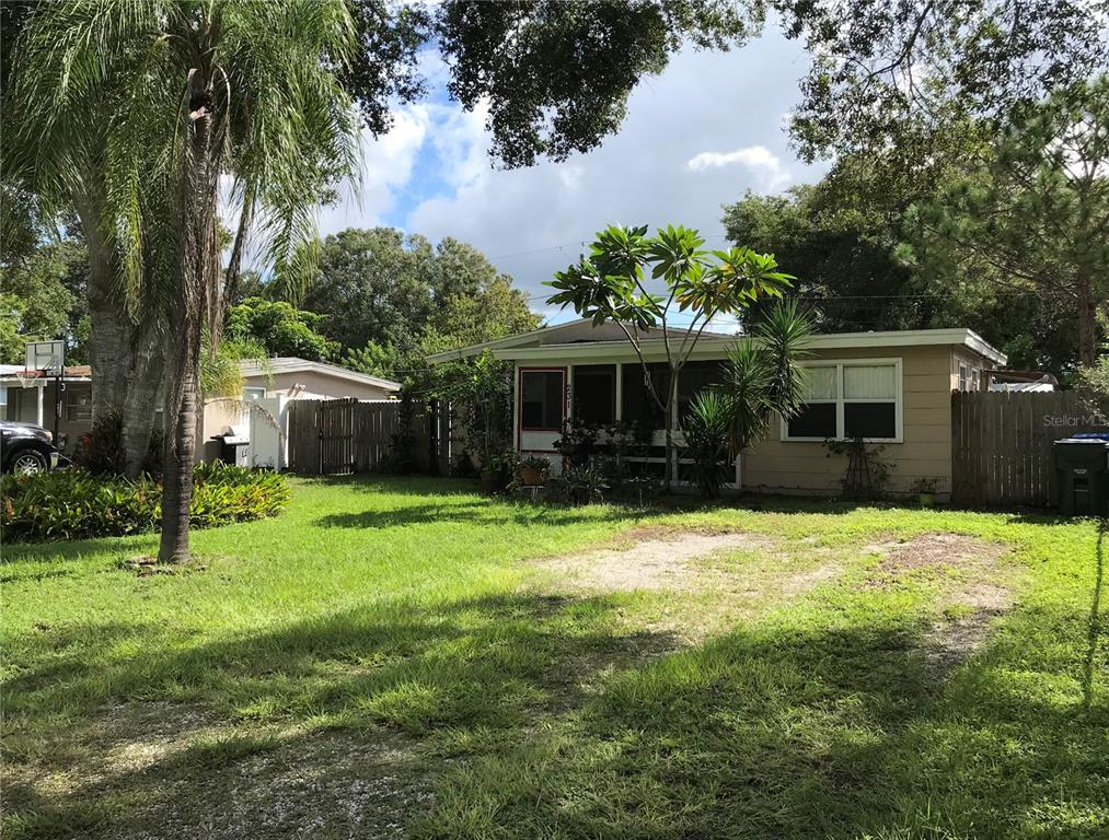 Central Pinellas County location, 3 bedrooms , large yard. Only minutes to Tampa Int Airport, Clearwater Beach, Downtown Dunedin, Downtown St. Pete and Indian Rocks Beach. Recently updated kitchen/dining room combo is very Efficient and adjoins to the generously sized living room. Breakfast dining counter brings it together quite nicely The large 3rd bedroom offers many opportunities, including serving as a Family room or it is perfectly suited for a home based office. Relax, sip a cocktail or perhaps read a book, as the Sunsets in on your Front screened porch. The Large enclosed yard allows for BBQ's entertaining Guests, or for the Kids to play. Fully fenced and private it is perfect for Pets to roam.
