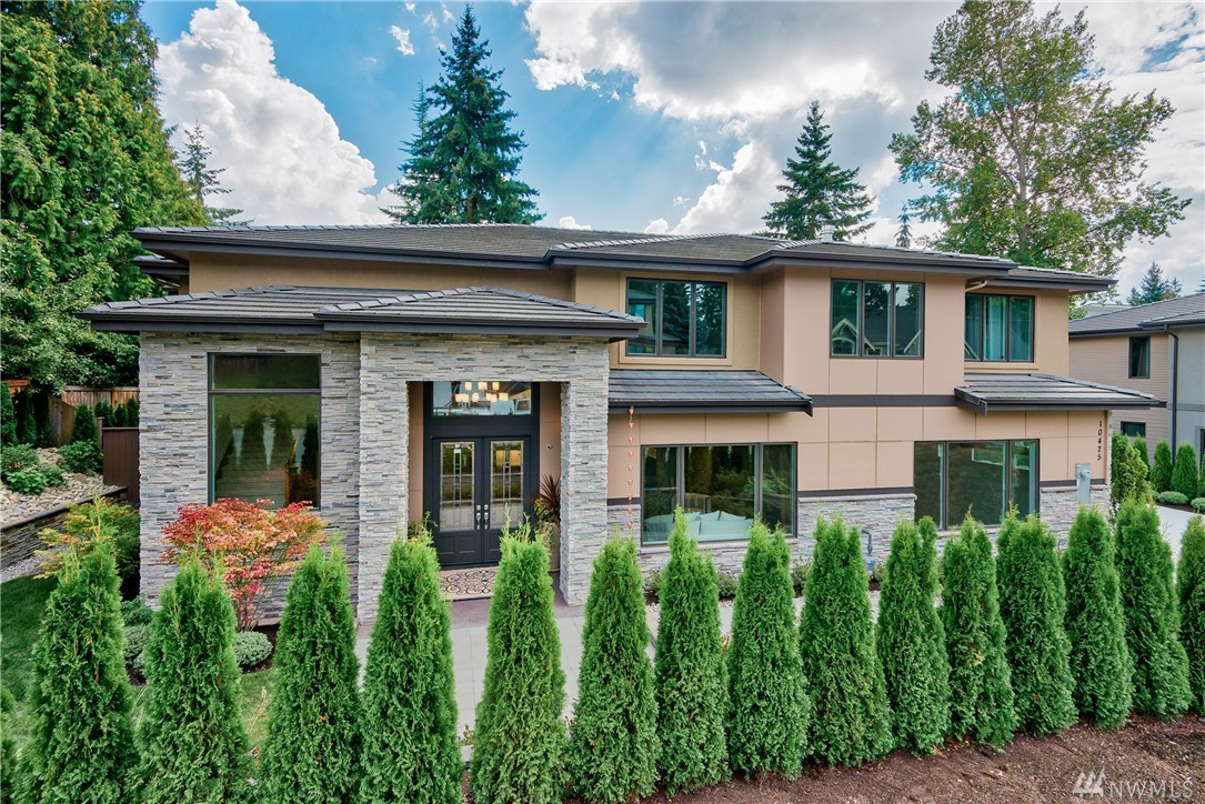 Traditional nuances with striking contemporary features; a harmony of palettes, opulent tones and vibrant depths artistically evoked by Venetian plaster- skillfully designed. A private extensive covered outdoor living area with fencing and decorative landscape design.  Six bedrooms ensuite, three car garage, quiet residential street minutes to downtown Bellevue shops and dining, top-rated public & private schools.  This home shall indeed capture the attention of the most discriminating client.