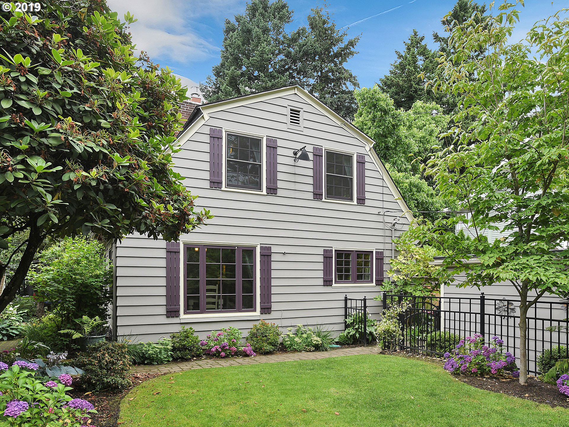 HANDSOME REMODELED DUTCH COLONIAL IN IRVINGTON. Stylish living in this historic hm. Features GOURMET CHEF'S KITCHEN, open flrplan w abundant light, MSTR SUITE ON THE MAIN, hrdwd flrs, 2 fireplaces, BSMNT FAMILY RM w extra tall beamed ceiling, private & quiet fncd yrd, sngl garage. Full remodel in 2005. Recent updates incl new windows/doors, insulation, water htr. AWESOME LCTN NR SHOPS, RESTRNTS, PARKS & SCHOOLS. MINS TO DWNTWN!
