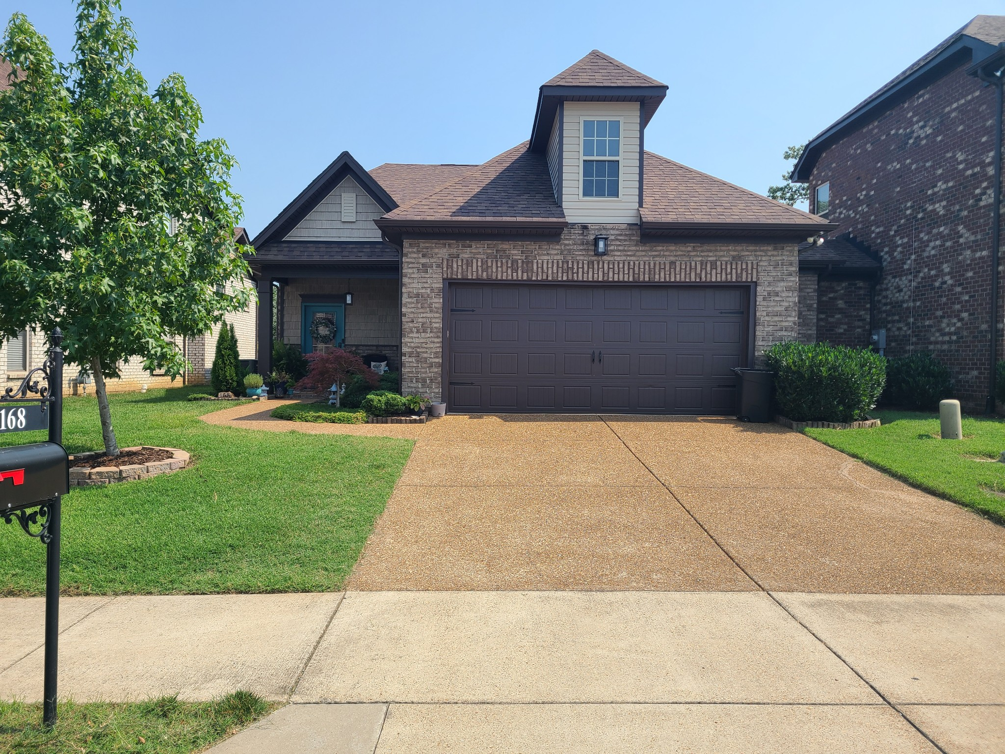 """Desired Gated Community...All Brick. Backs Up to Woods...2 pools...Pathway to Greenway...Close to Schools...Open Floor Plan...Fire Place...Large Pantry...4 Bedrooms...3 Baths...Large Walk in Mst Closet...1BR up could be used for In Home Office...Couch Up stairs can stay!  All Offers due Wednesday July 28th by 6pm.  (see full offer details on the """"Offer Info"""" attachment in the Media)"""