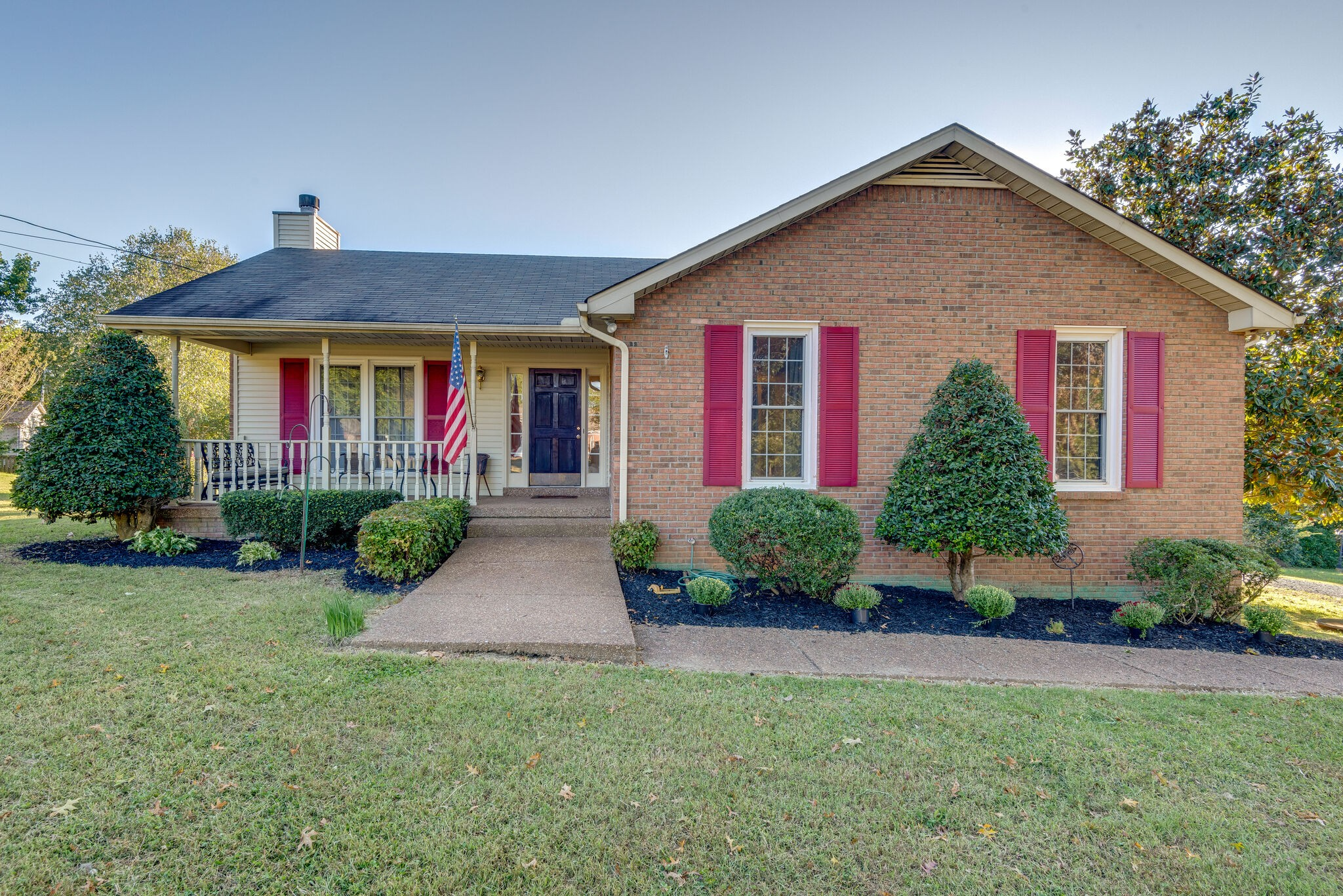 Charming 3 bed/2 bath brick home on half acre lot. Enjoy the back yard while relaxing on the back deck. This home is just minutes from Fairview City Center, easy commute to Nashville, and minutes to Bowie Nature Park. Large kitchen with a stove and dishwasher that are only 6 months old. Partially finished basement features a room w/ closet. Don't miss out on this lovely home.