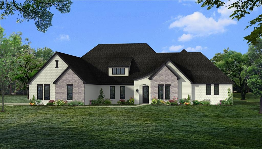 Transitional luxury exists in this Cascata Falls home under construction on one of the last lots! This newly designed floor plan features a dedicated entry, large living room with cathedral ceiling, wood burning fireplace and picture windows with views of the large covered patio. The open kitchen features an eat around island, walk thru pantry, and large dining area. The formal dining can be found towards the front of the home. A private master suite is tucked away with dual sinks, free standing tub, generous natural light and a large walk in closet. Two secondary bedrooms have a jack n jill bath with large walk in closets. A dedicated study is perfect for a quiet work space and has a closet.  A dedicated game room can be found making this home flexible for everyone!