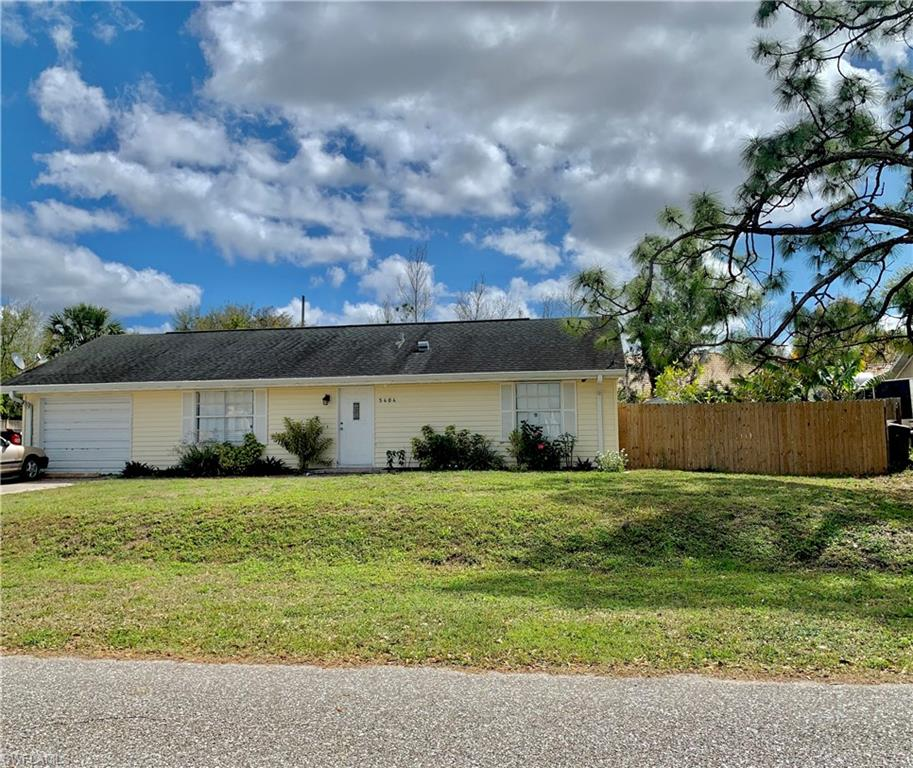 Location! Location! Location! Right in the heart of Golden Gate City! This 2/2 BB is ideal for an investor or anyone looking to live in the Middle of Naples. Just 15 minutes from Downtown Naples, and the beach.