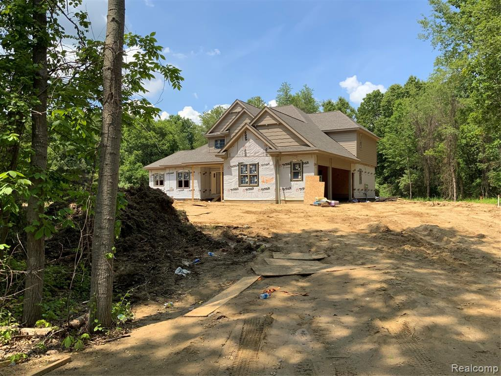 New construction on a beautiful, private, wooded build site...Now is the Time for personal selections. Builder has decorator services to help with the selection processBasement will have rough plumbing for future bath