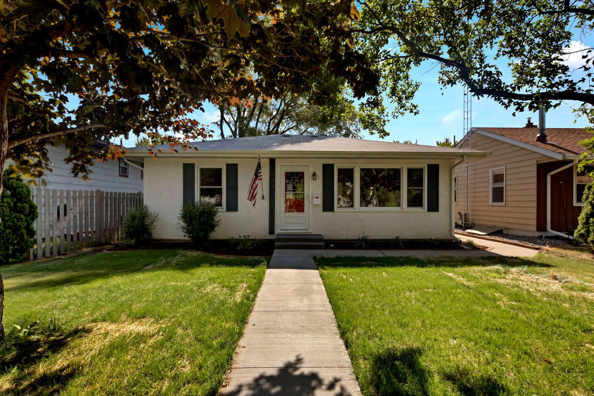 Completely renovated 4 BR, 2 BA home.  No part of this home was left untouched.  All new main floor bath fixtures, new flooring and carpet, and much more.  Heated and insulated garage with plenty of power, workbench and shelving.