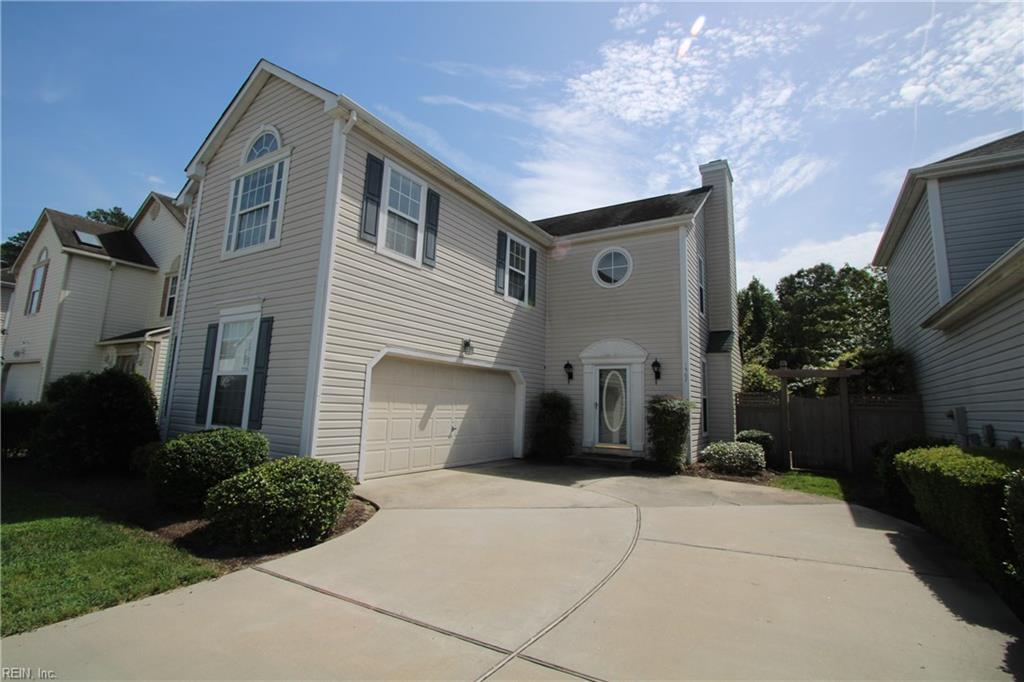 Beautiful 3 bedroom, 2.5 bath detached condo located in the heart of Greenbrier. Spacious, open downstairs floor plan with high ceilings & bay window. Pleasant natural light throughout the home. Huge master bedroom with cathedral ceiling. Large walk-in closets. Cozy fenced-in patio area. Neighborhood pool. Convenient to shops, restaurants, interstate access, & Virginia Beach. Walking distance to a grocery store & restaurants. All NEW Windows installed mid November 2020.