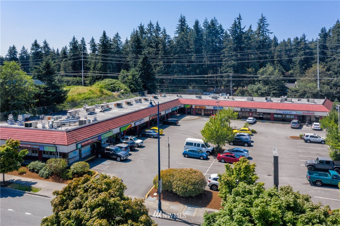 Excellent location, high visibility strip mall (35,000+ traffic count!) with great tenant history. 100% leased! Mix of office and retail tenants. Recent improvements include brand new roof (just installed!) and multiple HVAC system replacements. Recent Aurora improvements for Shoreline highlight opportunities for long term investment. Great regional demographics. Great signage (2 signs). MB zoning with great possibility of further expansion with 70 ft. (5+ stories) height zoning.  Coastal Bank has already approved and appraised building. Inquire about possible seller financing. ***See all pictures and aerial video on website****