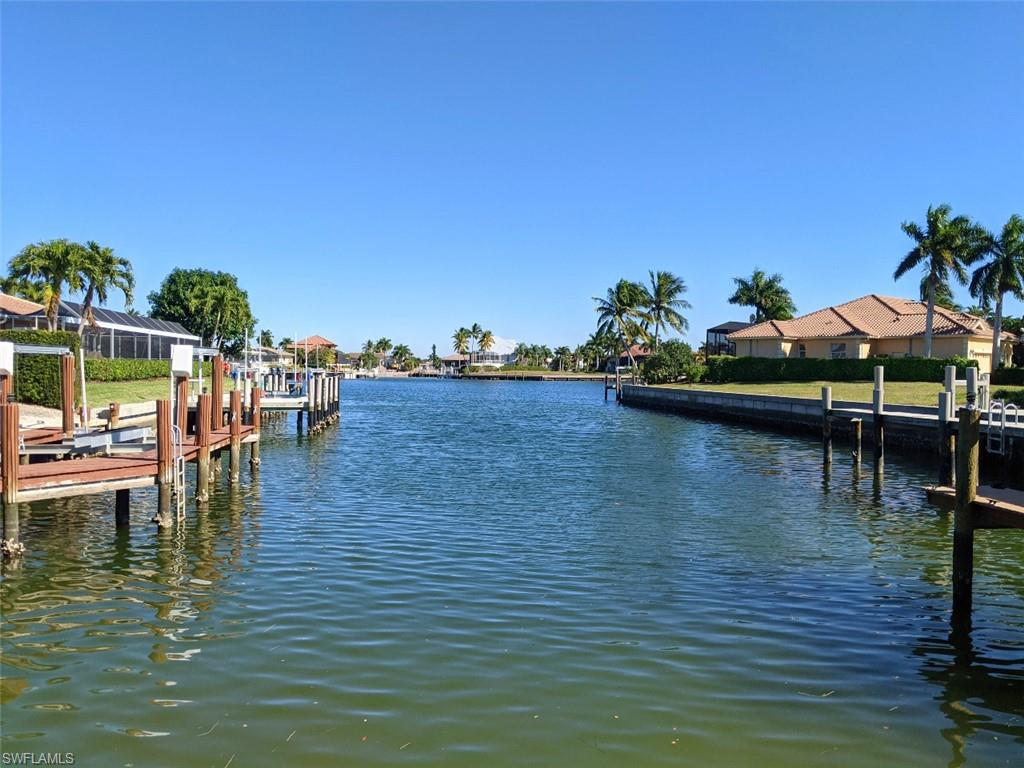 Vacant Lot in a pristine location on Marco Island. Perfect to realize the boater's  dream. Start to build your dream home designed exactly how you like it and always wanted to have it. Have you private boat dock, be on the Gulf of Mexico in a few minutes and if you are not in the mood to use the boat just walk 5 minutes and go to the white sandy beach to relax. This lot one of a kind with regards to location and design and as y'all know there are three importan criteria for a lot: 1. LOCATION, 2. Location and 3. LOCATION. Well, now the only question left is: What are you waiting for?