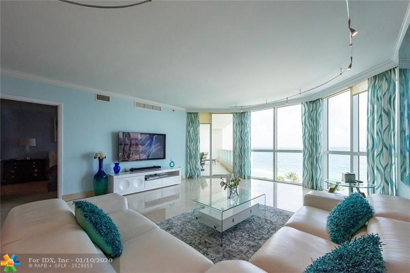UNIT HAS INCREDIBLE DIRECT OCEAN VIEWS FROM LIVING ROOM & MASTER BEDROOM WHICH OVERLOOK  THE RENOVATED TERRACE WHICH HAS A LARGE INFINITY POOL AND A 50 ' JACUZZI. UNIT HAS 2 PARKING  SPACES !!!  THIS THRU UNIT SHOWS THE SUNRISE OVER THE OCEAN IN THE MORNING FROM YOUR GREAT ROOM AND MASTER BEDROOM AND THE SUNSET FROM THE 2 BEDROOMS FACING THE INTRACOASTAL. HAS A GREAT FLOOR PLAN!  UNIT FEATURES A PRIVATE ELEVATOR IN YOUR FOYER, HAS 3 BEDROOMS, 3 FULL BATHROOMS, MIELE, SUBZERO ULINE APPLIANCES IN THE KITCHEN & MARBLE FLOORING IN ALL LIVING AREAS. THERE ARE 5 STAR AMENITIES IN THE AWARD WINNING LAS OLAS BEACH CLUB. BEST LOCATION ON EXCITING FT LAUDERDALE BEACH. THERE IS A LEASE TERM TILL MARCH 2ND 2020.