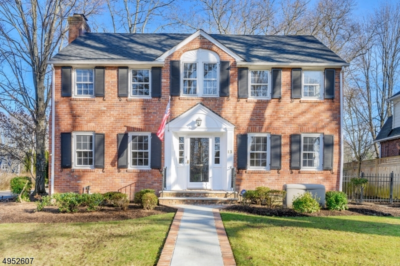 Location, Location - Spacious, updated 5 Bedroom, 3 1/2 bath brick Center Hall Colonial located in a quiet neighborhood blocks from town, schools & train. Huge Family Rm with access to patio & professionally landscaped yard. Special features include a tastefully renovated white custom cabinet eat-in Kitchen with center island, 3 renovated bathrooms on the 2nd fl, Family Room next to Kitchen, three fireplaces, wine cellar, convenient back staircase, a large mudroom area & attached garage. Recent improvements include a whole house generator, new roof and new boiler. Spacious rooms with great flow for entertaining & everyday living. Zoned for highly rated Lincoln-Hubbard Elementary.