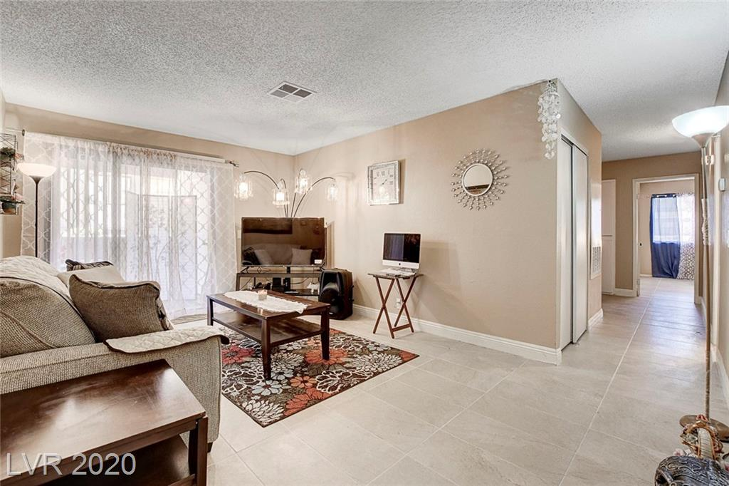 Immerse yourself with tranquility & peace at the well established community of Desert Shores! Newly remodeled floors within this 3 bedroom 2 bathroom ground unit! This gated community features a pool & spa, close proximity to the freeway, shopping, groceries, parks and more!