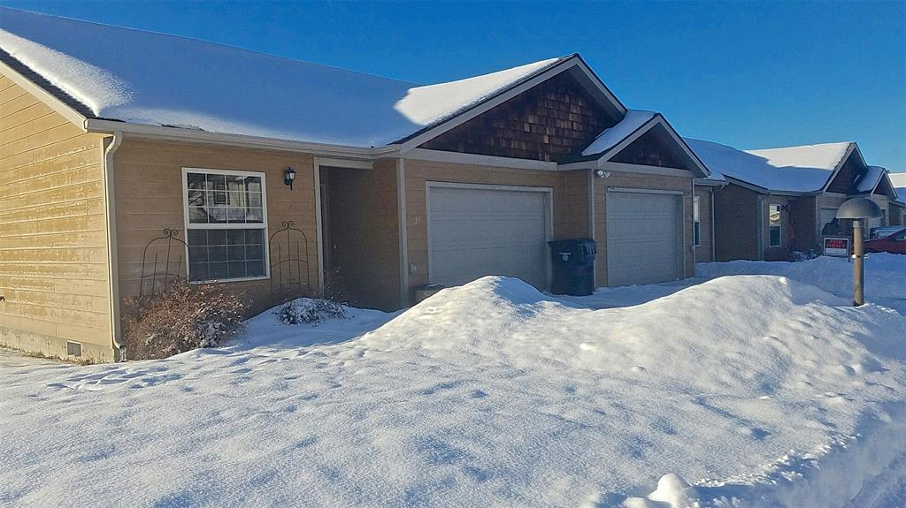 Well maintained single level Duplex in Bozeman. Each unit offers 3 Bedroom 2 Full Bathroom 1,294sqft and a two car garage. Terrific rental history! Both units have a private fenced back yard with under ground sprinkler. Sides to subdivision park. Terrific proximity to MSU, Downtown. Call today, this duplex won't last long!