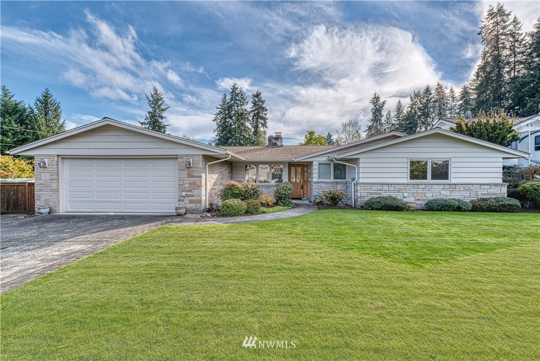 Look no further - this meticulously maintained rambler in Fircrest is waiting for you! With 2144 sqft, three bedrooms, including two master suites, this one level home has all you could ever need. Included are built-ins, a warm fireplace, a large great room and ADA accessible amenities. Outside there is a fully fenced yard and lovely patio space, all nestled on a nice, quiet street privacy is assured. Close to shopping, golf, community park and schools, the location can't be more perfect.