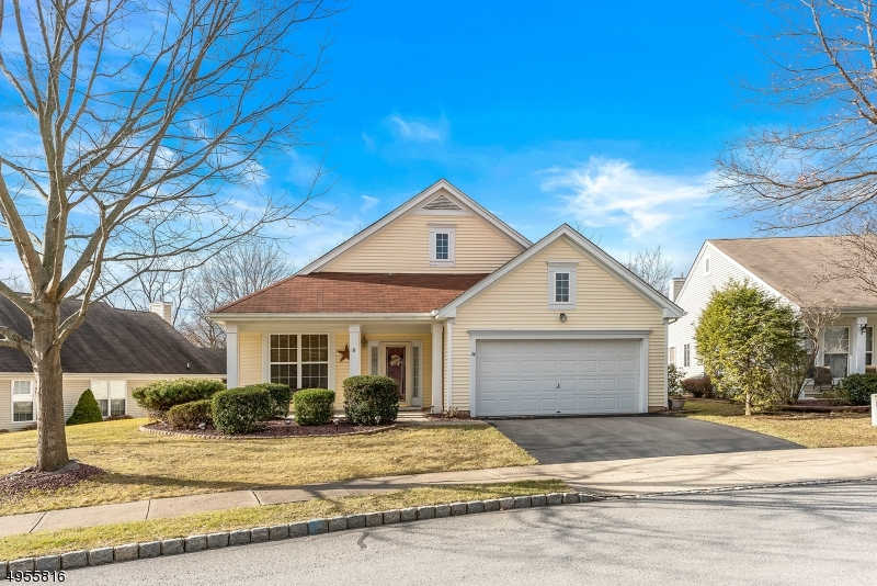 "Detached Ranch - Elegant Chatham Floor Plan. Active 55+ lifestyle. Home (Chatham) offers a 2 car garage, den or hobby or office or ""Other Use"" 13x10 room. 2BR/LR/DR/FR/KIT and 2 Bath. Excellent floor plan offering FR w/FP (gas-natural) to warm up any chilly evening. Resident activities: Aerobics (incl. water aerobics) Bocce, Pickle Ball, Shuffleboard, Bingo, Zumba, Tennis, Yoga. Great Clubhouse - Exercise room, etc. Brookfield condominium Mo. Assoc. Fee $160. Assoc covers landscape (common), trash removal, clearing of snow (sidewalk, driveway, (?) walks) water/sewer for common areas. Underground sprinkler - common areas. Charming Chatham (Elevation B) in beautiful NJ Skylands."