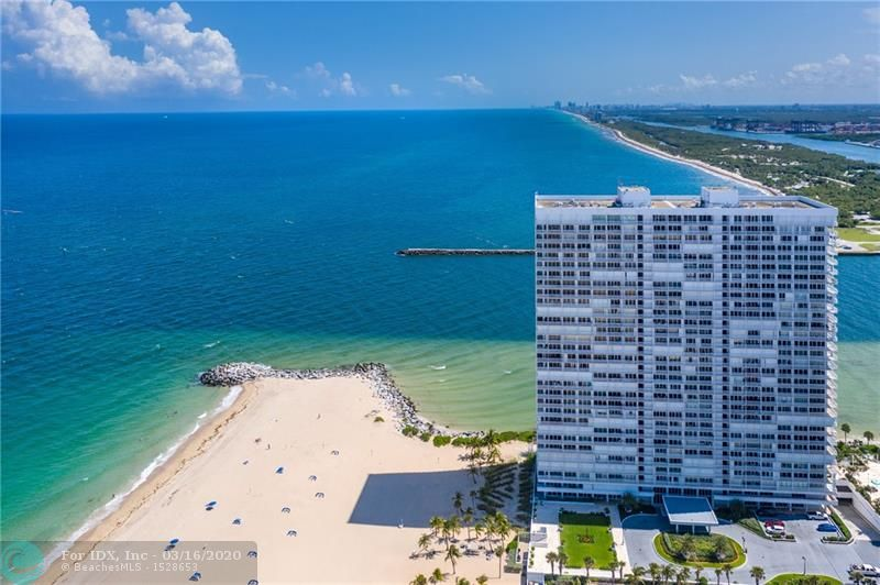 "This remarkable north-facing residence at Point of Americas II has the feel of being in your own ""Beach Bungalow"" by the Sea! Don't let this 2nd floor location fool you since you have beautiful direct views of the Atlantic Ocean and the lushly landscaped pool & lanai area of the POA I. This is the lowest priced condo in Point II & ""Priced to Sell""! A light & bright 2 Bed/2 Bath unit with custom plantation shutters and an open kitchen is move in ready. Ceiling to floor windows, tile flooring, split bedroom plan and a spacious balcony to enjoy the Gulfstream breezes all year long. Point of Americas II has completed a multi-million dollar modern renovation of the main lobby areas and is a delight to tour the magical location of this oceanfront ""Jewel of the Gold Coast""."