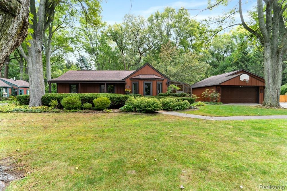 Welcome to 20160 Milburn ... Perfectly set on a tree shaded lot on 1.12 acres is this GEM!!! This Ranch is stunning home and all that it has to offer sets it apart from every other house in Livonia. City meets Farm House ... Master Bedroom is generously sized with ensuite offering a 15 x 23 Four Season Room equipped with heat & A/C. The Kitchen and Dining Room open up to the Living Room with a extended 3 Season Room with  tall windows for plenty of natural light. The layout of this home has richly-appointed spaces for family gatherings and entertaining. The exterior curb appeal is  just beyond unique ... Curb appeal starting  from front to a backyard that offers large extended Patio over looking  the beautiful yard & Farm House. Attached is a 3 Car Garage with a Workshop. Front & rear garage door for easy accessibility to backyard. Home is handicap accessible. This home has been loved & well cared for and it shows. This is a rare find in Livonia. DON'T MISS A CHANCE TO CALL THIS HOME.