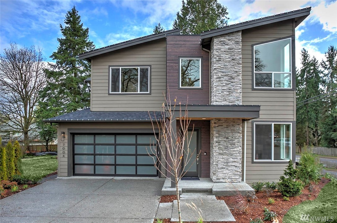 Brand New Contemporary by Terrene Homes, a RARE opportunity in Redmond! The Denton; lofty and open with Modern feel and timeless designer curated finishes. Main floor guest suite, 10' ceilings, walls of windows, open concept great room w/ slab quartz & Thermador appliances, smart home elements, the list goes on. Savvy floorplan has 'winged' ceiling upstairs! Sumptuous Master suite with stunning spa bathroom! Covered patio off kitchen! Across from Grass Lawn Park and near award winning schools!