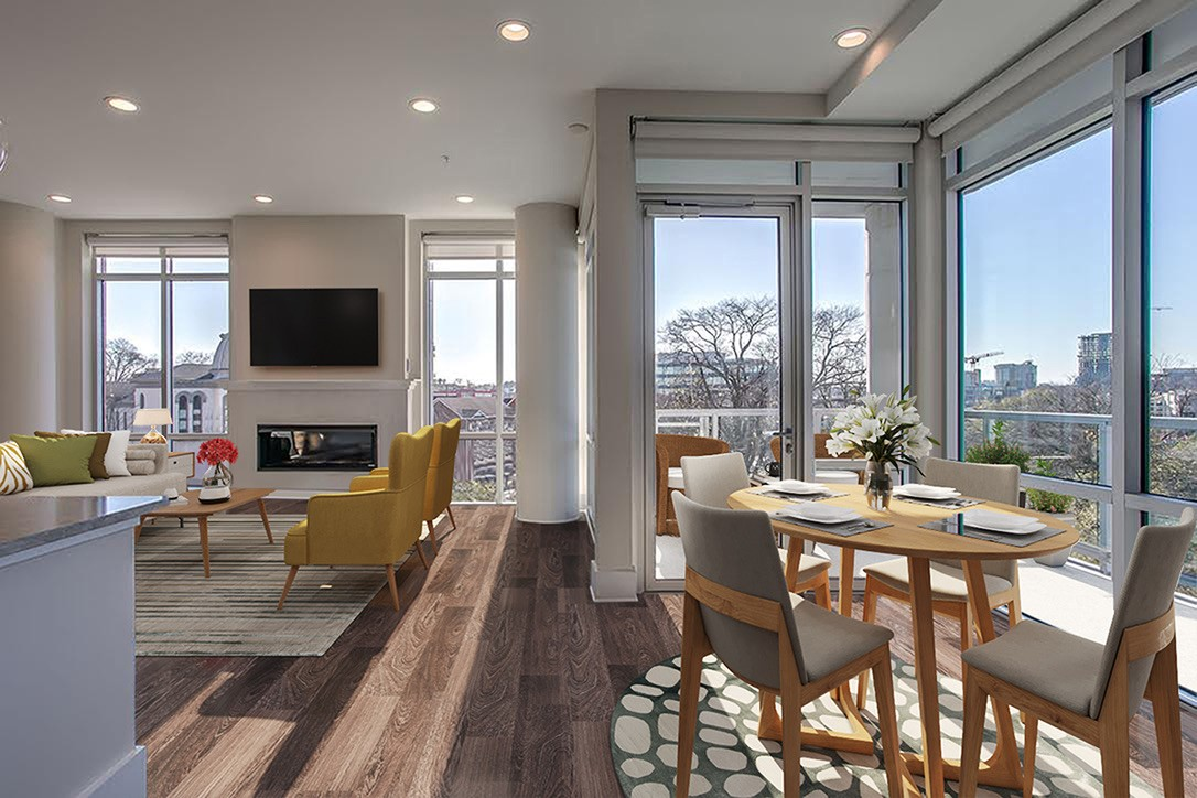 This 02 stack SOLD OUT immediately due to the premier views of both Ascend & Sunsets! Seller already equipped condo with LUTRON smart upgrades, W/D and so much more! Luxury living at its finest with a lush pool deck, 24-hour concierge, fitness & yoga room, roof top lounge and dog park.