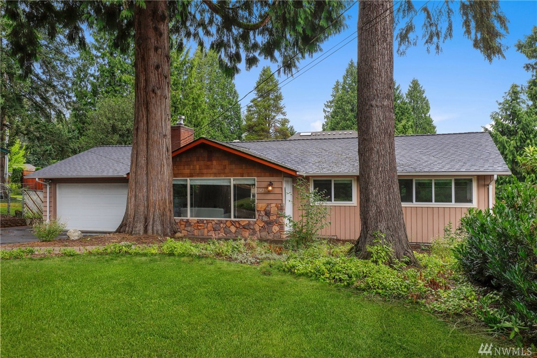 A truly special personality packed find! Welcome home to this extensively updated rambler that is just moments to DT Redmond, Microsoft, Schools, Parks, & easy 520 & I405 access. Situated on a large .22 acre lot tucked back off of a cul-de-sac this warm & inviting lovingly renovated single story offers a fully revisioned kitchen, fresh bathrooms, new flooring, newer roof & windows, ductless minisplit, sharp new fireplace, RV/toy parking, & so much more all at a fantastic price.