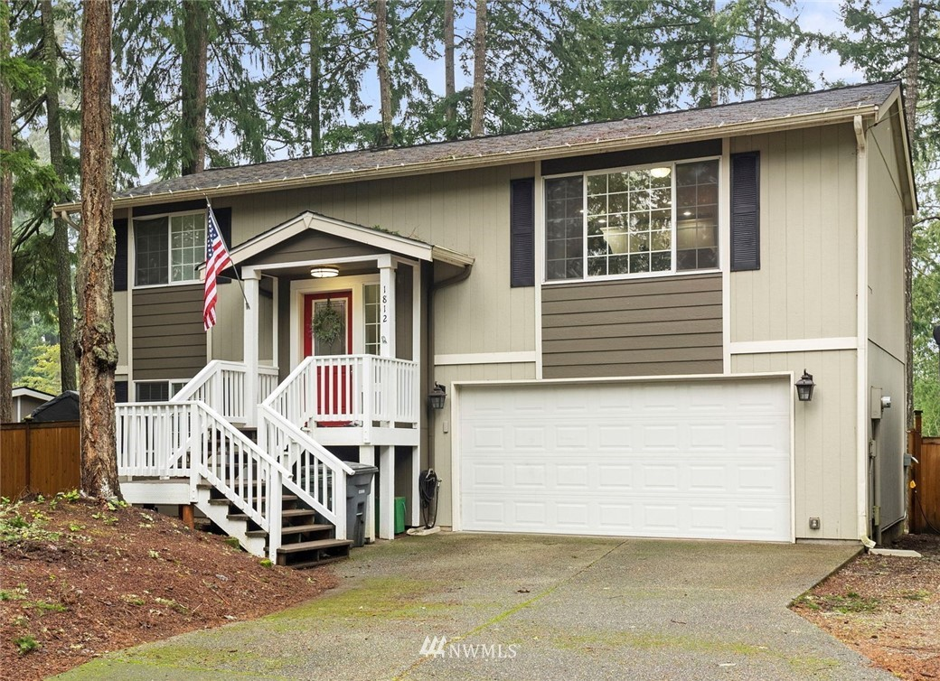 Welcome to the Palmer Lake Beach Club community! This well cared for 3 bed/2 full bath 1350 sq ft home is the one you have been waiting for. The beautifully updated kitchen features newer stainless steel appliances & black quartz countertops. The eat in kitchen opens to your large family room area, as well as a deck off the back for even more entertaining space. On the main floor, you will find 2 spacious bedrooms & one full bath. Downstairs, the 3rd bedroom, full bathroom & EXTRA finished room allow for multigenerational living, work/school from home, the options are endless. Outside, you'll love the fully fenced back yard, RV parking & new 50 year roof. Bring your kayaks, fishing poles & food for the grill to enjoy at the community beach!