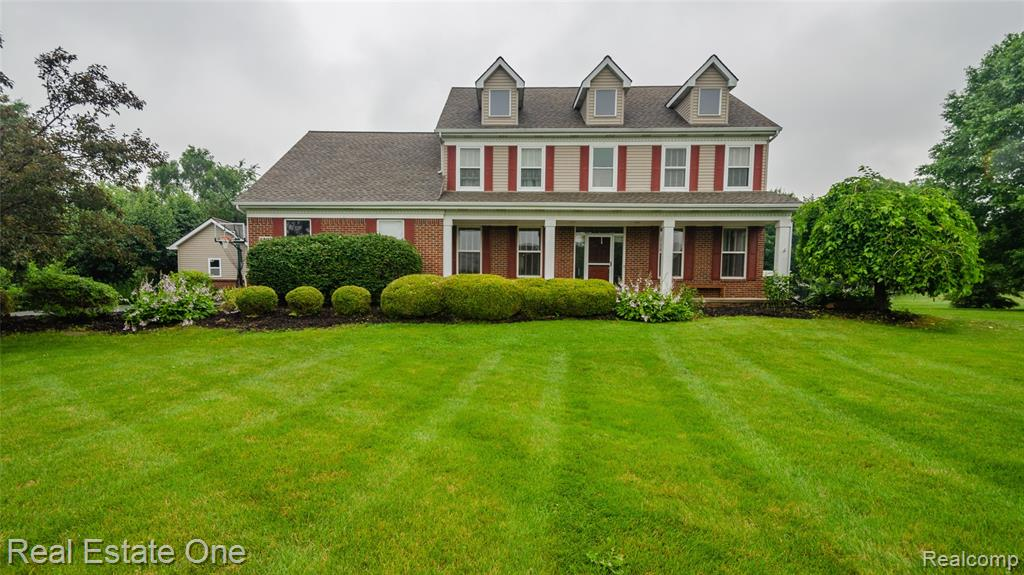 Step away from it all right through your front door!! This 5 bed, 4 full bath home has everything!! Huge kitchen w/ SS Appliances eat-in breakfast room w/ skylights overlooking pool and fountain pond. Open concept large family room w/ stone surround fireplace and wet bar. Natural light pours in from huge windows throughout the 5 extra large bedrooms. Master bedroom features attached dressing room and his hers closet w/ organizers. Ensuite bath w/ jetted tub and step-in shower. Partially finished basement features river rock surround fireplace w/ bar including extra refrigerator and built-in cabinetry.  HOA maintained play structure, and basketball court adjacent to property. Come see all that 8697 N Hills Ct. has to offer!! Please refer to 3D virtual tour for additional Pictures!!
