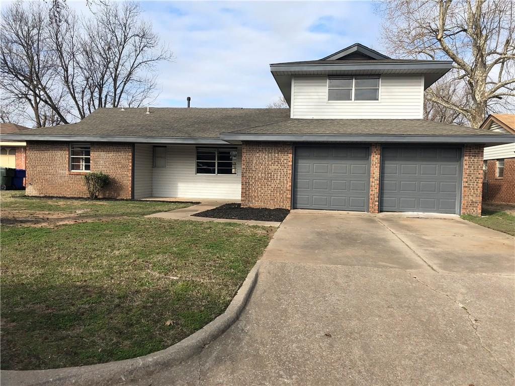 Newly remodeled throughout.  2 story home with ceramic floors downstairs and laminate upstairs.  All new counter tops and appliances.  Public park access from backyard.  Screens to be added.  Shutters on front first level to be added.